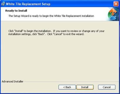 Begin Instillation