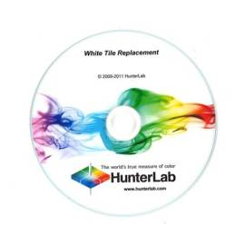 Installation CD that accompanies your new white tile.