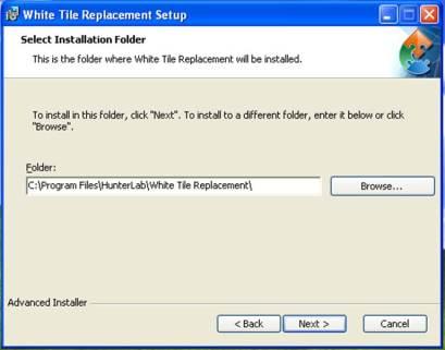 Instillation Folder