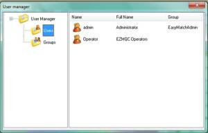 New User added shown in User Manager