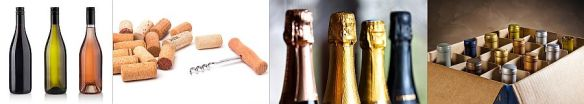 Color of wine, cork stoppers, foil wrappers and metal caps are all color measurement applications.